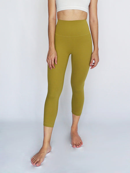 Cinch Legging- MUSTARD - Banana Fighter