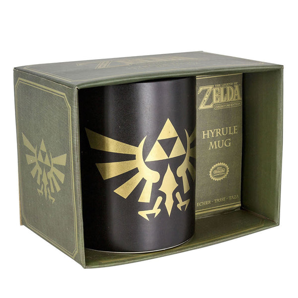 Taza con El Logo de Hyrule: The Legend of Zelda