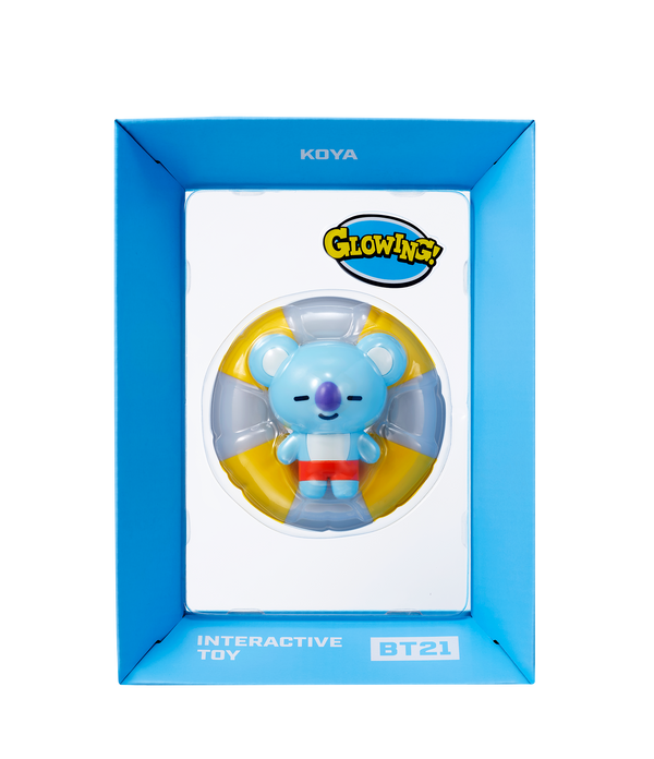 Figura coleccionable interactiva de BT21 Toy Koya