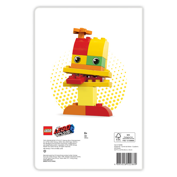 Libreta de LEGO® MOVIE 2: Duplo