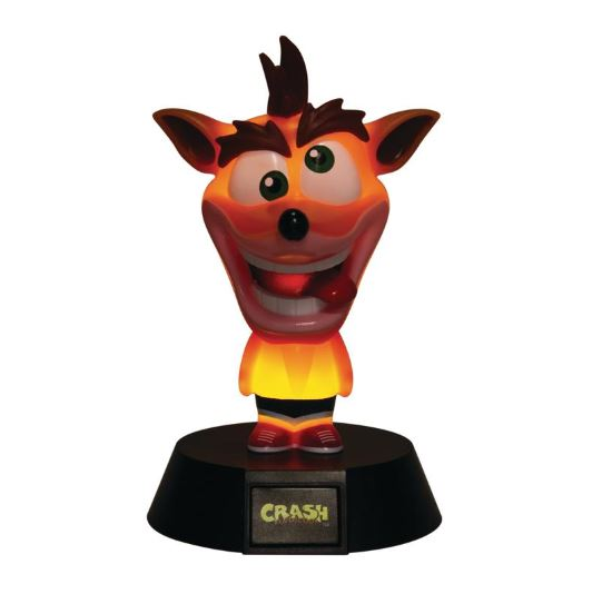 Lámpara 3D de Crash Bandicoot