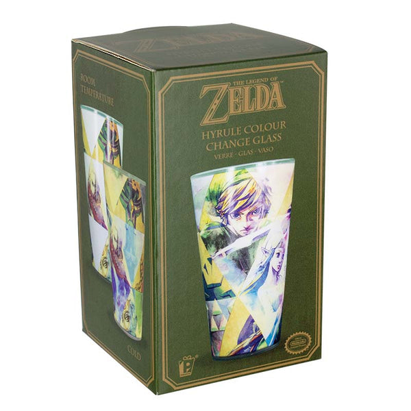Vaso Termosensible de The Legend of Zelda