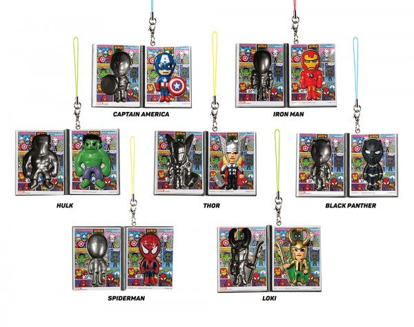Figuras de Marvel Frenzies (Tokidoki)