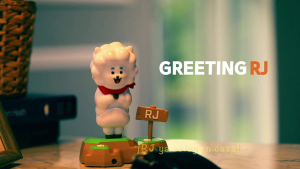 Figura coleccionable interactiva de BT21 Toy RJ