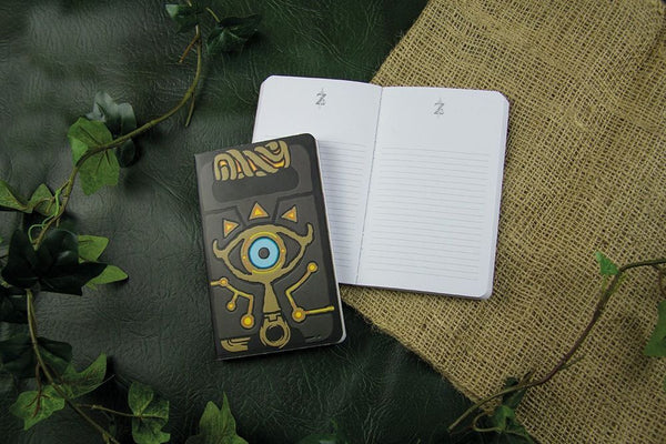 Libreta con el Ojo de Sheikah (The Legend of Zelda)