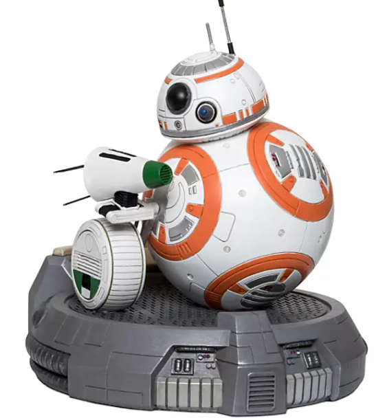 Figura de BB-8 y D-O en The Rise of Skywalker
