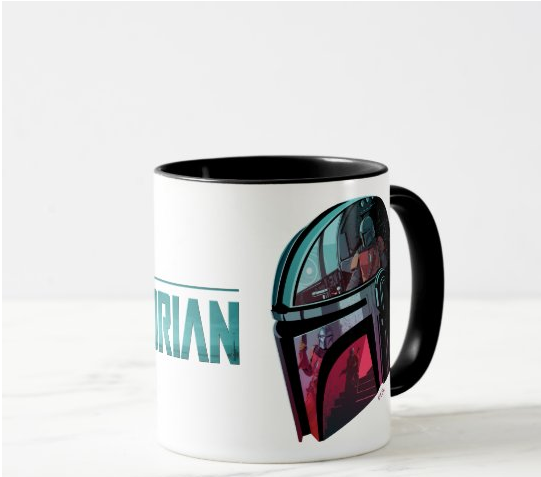 Taza de The ;Mandalorian