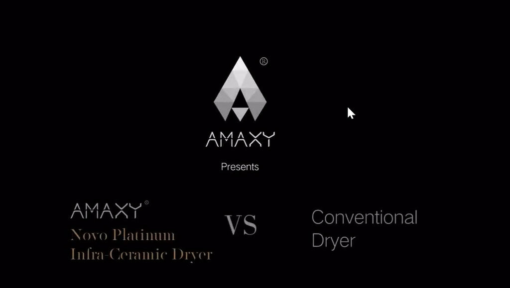 Amaxy Infrared Ceramic Hair Dryer VS Other Hair Dryers