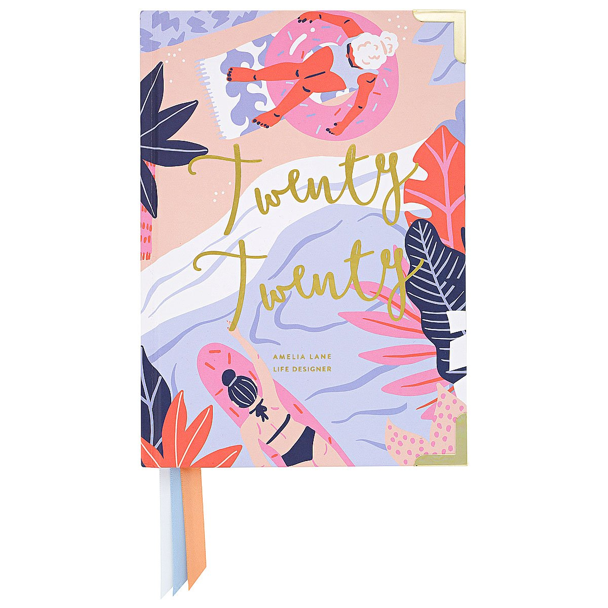 2020 Amelia Lane Life Designer, Compact Weekly (Summer Days)