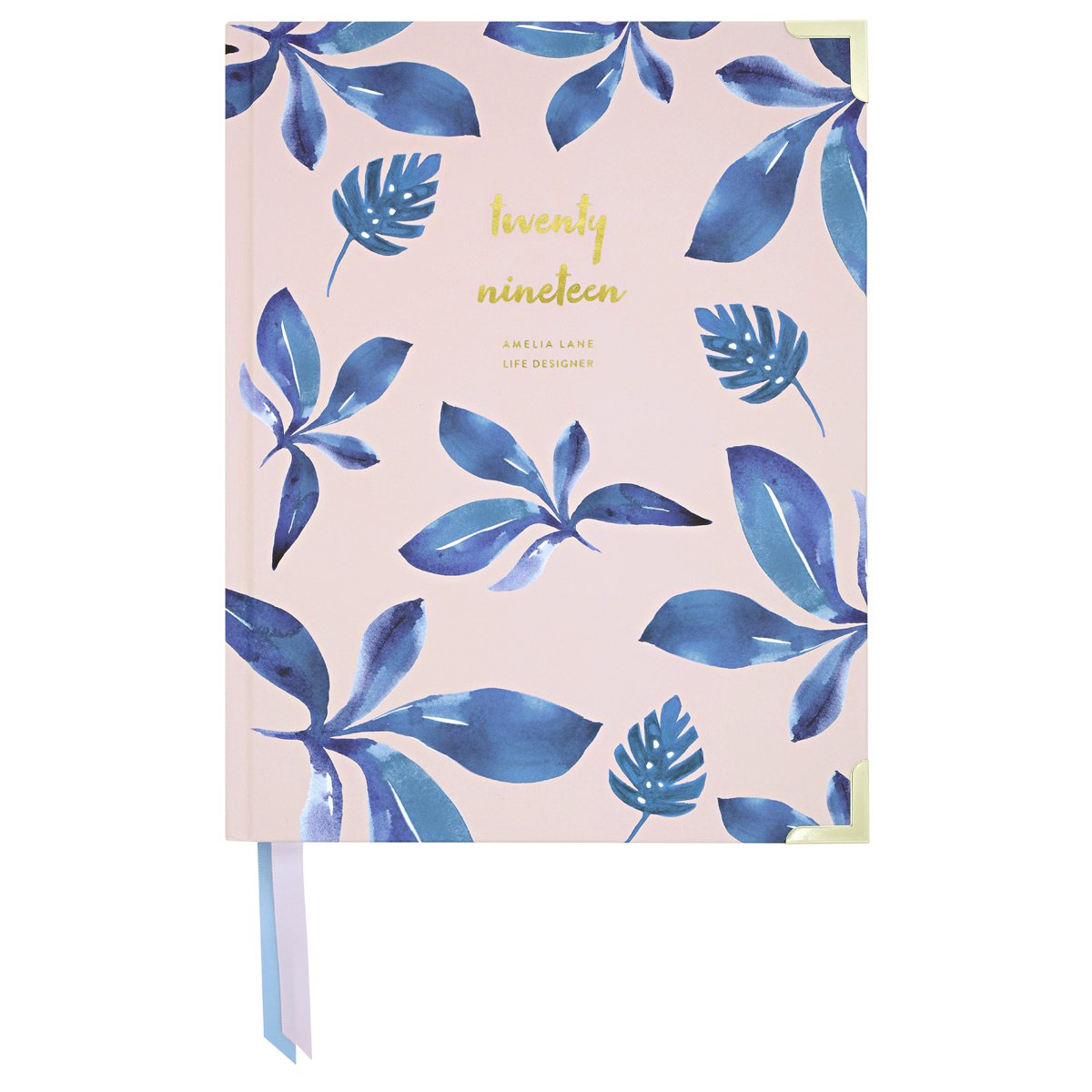 2019 Amelia Lane Life Designer, Desktop Daily (Ocean Leaves)