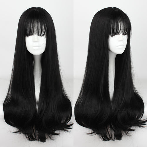 Black Air Bang Long Wig SP1711587
