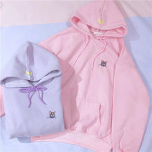 Purple/Pink Sailor Moon Fleece Hoodie Jumper S13065