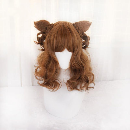 Kawaii Fox Ears Lolita Wig SP1811996