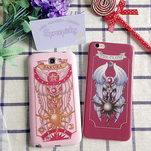 Pink/Red CardCaptor Sakura Phone Case FOR ANY PHONE SP168143