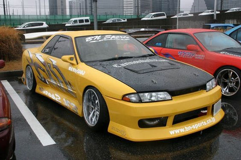 Bn Sports Style , Fibreglass , Side Skirts , R32 Skyline Gts-t