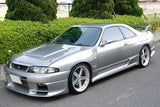Top Secret Style , Aftermarket , Fibreglass , Front Bar , Nissan R33 Skyline Gts-t