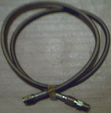 DRI , AFTERMARKET , 2 FOOT BRAIDED HOSING WITH 2 FITTINGS .