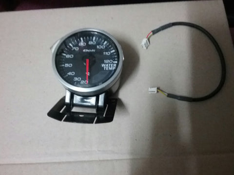 Defi link Water Temperature Black Face 60mm Gauge .