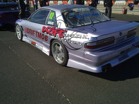 Origin Labo , Aftermarket , Fibreglass , Rear , 30mm Wider Overfenders / Guards , S13 silvia