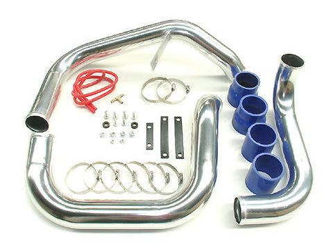 DRI , AFTERMARKET , POLISHED , ALLOY , INTERCOOLER KIT , R33 & R34 SKYLINES