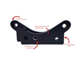 HFM R33 GTS-T caliper bracket to suit 324mm R33 GTR rotor
