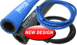 Aeroflow Blue Push Lock On Hose -  Blue / Black - af400 - 10 - 1m