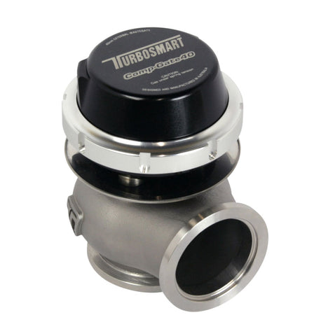 Turbosmart External Wastegate Gen 4 WG40 Compgate 40mm - 14 Psi Black