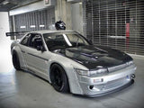 Rocket Bunny Style , Version 1 , Fibreglass , Complete Bodykit , Nissan S13 Silvia