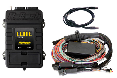 Haltech Elite 1000 + Premium Universal Wire - In Harness Kit 5m