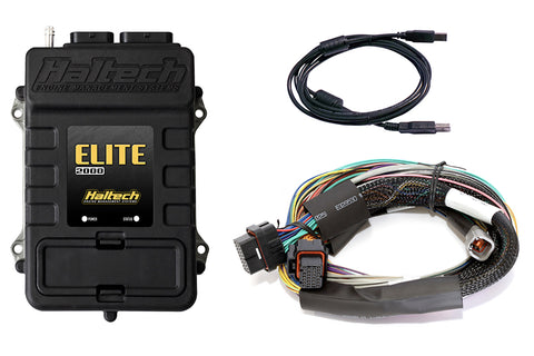 Haltech Elite 2000 Ecu Computer + Basic Universal Wire - In Harness Kit