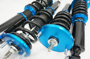 K Shock Street Series Coilovers , Height / Damper / Camber Tops - Nissan S13 Silvia / 180sx