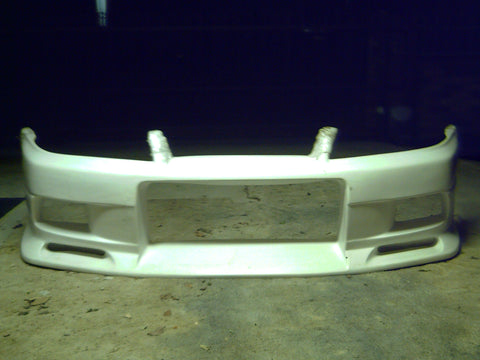 Trust Greddy Style , Aftermarket , Fibreglass , Front Bar , Nissan R33 Skyline Gts-t