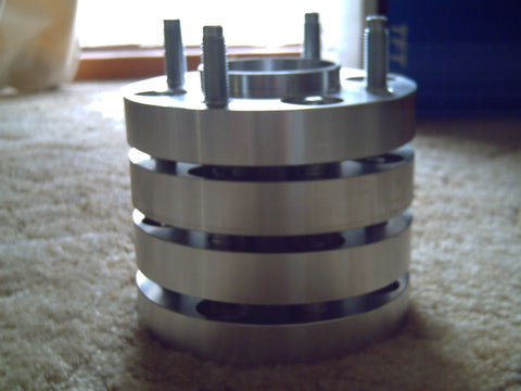 CUSTOM MADE 4 OR 5 STUD , PAIR , BOLT ON WHEEL SPACERS
