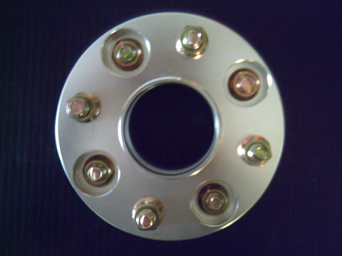 4 STUD PAIR X 114.3PCD , 25MM , HUB CENTRIC BOLT ON WHEEL SPACERS