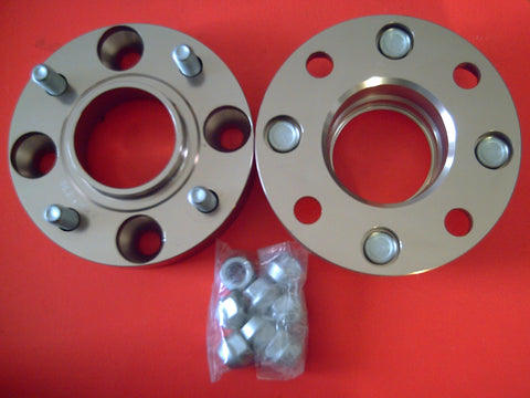 4 STUD PAIR X 114.3PCD , 30MM , HUB CENTRIC BOLT ON WHEEL SPACERS