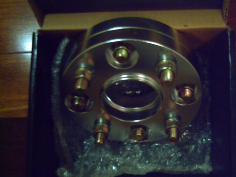 4 STUD PAIR X 114.3PCD 20MM HUB CENTRIC BOLT ON WHEEL SPACERS