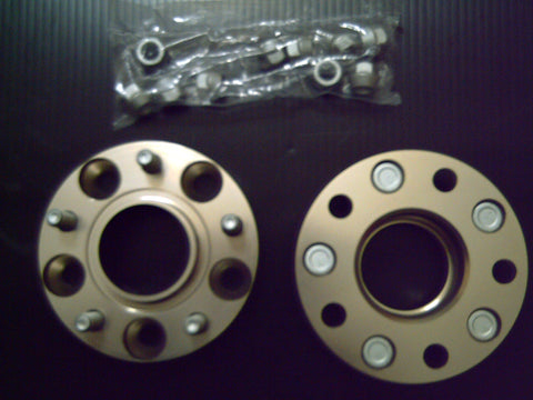5 STUD PAIR X 114.3PCD , 25MM , HUB CENTRIC BOLT ON WHEEL SPACERS