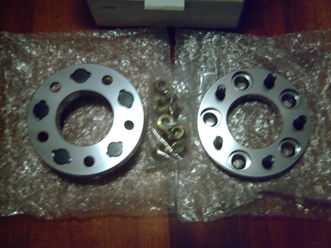 5 STUD PAIR X 114.3PCD , 20MM , HUB CENTRIC BOLT ON WHEEL SPACERS