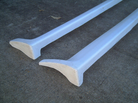 Dri , Aftermarket , Fibreglass , Unknown style Side Skirts , Kn035m6s .