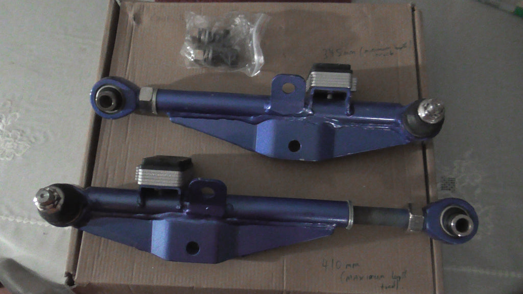 Dri , Aftermarket , Front Lower Fully Adjustable Control Arms , Nissan S13  Silvia / R32 Skyline