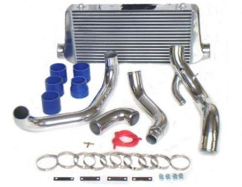 DRI , AFTERMARKET , POLISHED , ALLOY , INTERCOOLER KIT , TO SUIT S14 & S15 200SX , SR20DET ENGINES