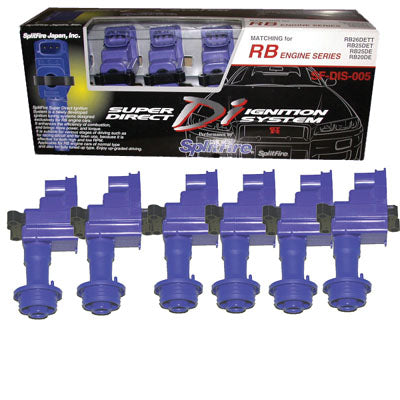 Splitfire Coilpacks Super Direct Di Ignition System - Rb25Det / R33 Skyline Gts-t