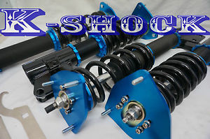 K Shock Street Series Coilovers , Height / Damper - Nissan 350z