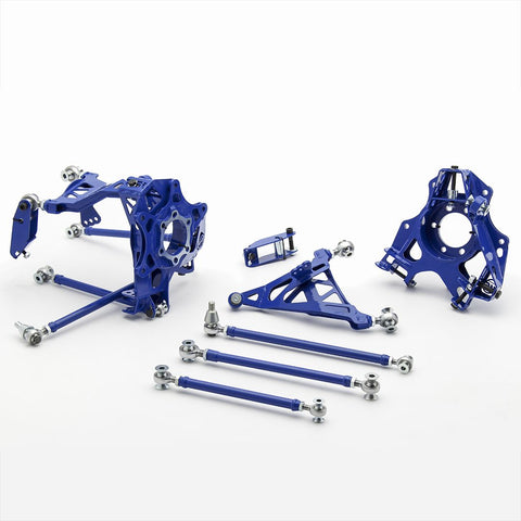 Wisefab = Infiniti G37 Rear Suspension Drop Knuckle Kit