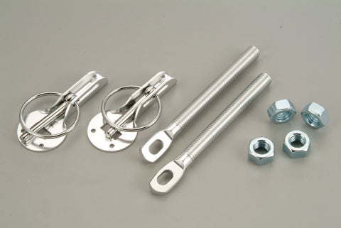 DRI , CHROME , PAIR , BONNET PINS .