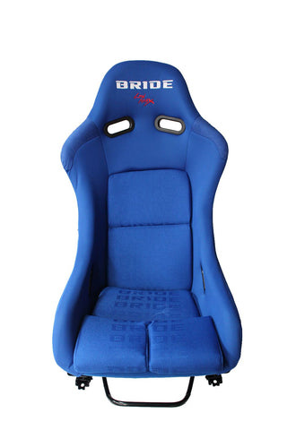 Bride Vios 3 Style Fixed Back Bucket Racing Seat - Blue