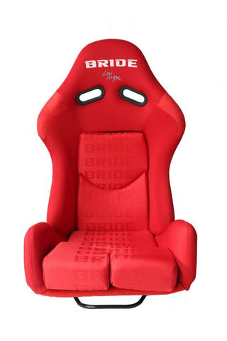 Bride Gias 2 Style Reclinable Racing seat - Red - Large