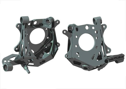 Gktech , Rear , Aftermarket Drop Knuckles with Kinematics , S / R / Z32 Chassis