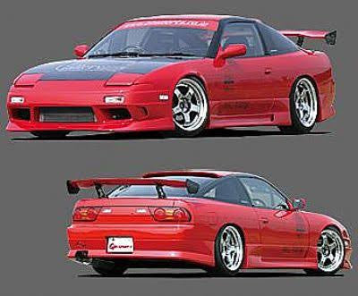 Gp Sports - G Sonic Style , Aftermarket , Fibreglass , Rear Bar , 180sx