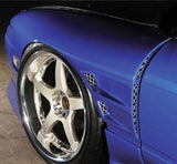 D-Max Style , Aftermarket , Front , 35-40mm Wider & Twin Vented , D1 Overfenders , 180sx